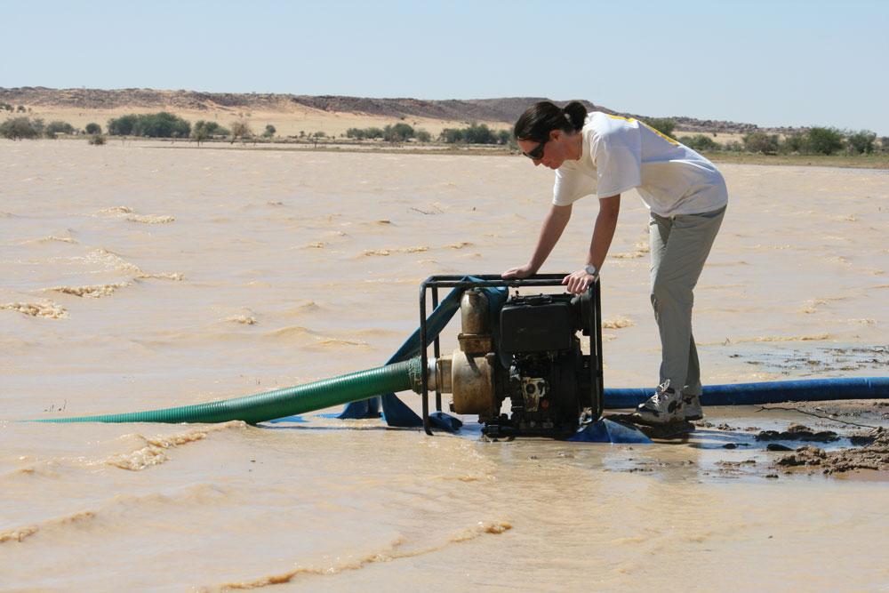 humanitarian engineering international aid work