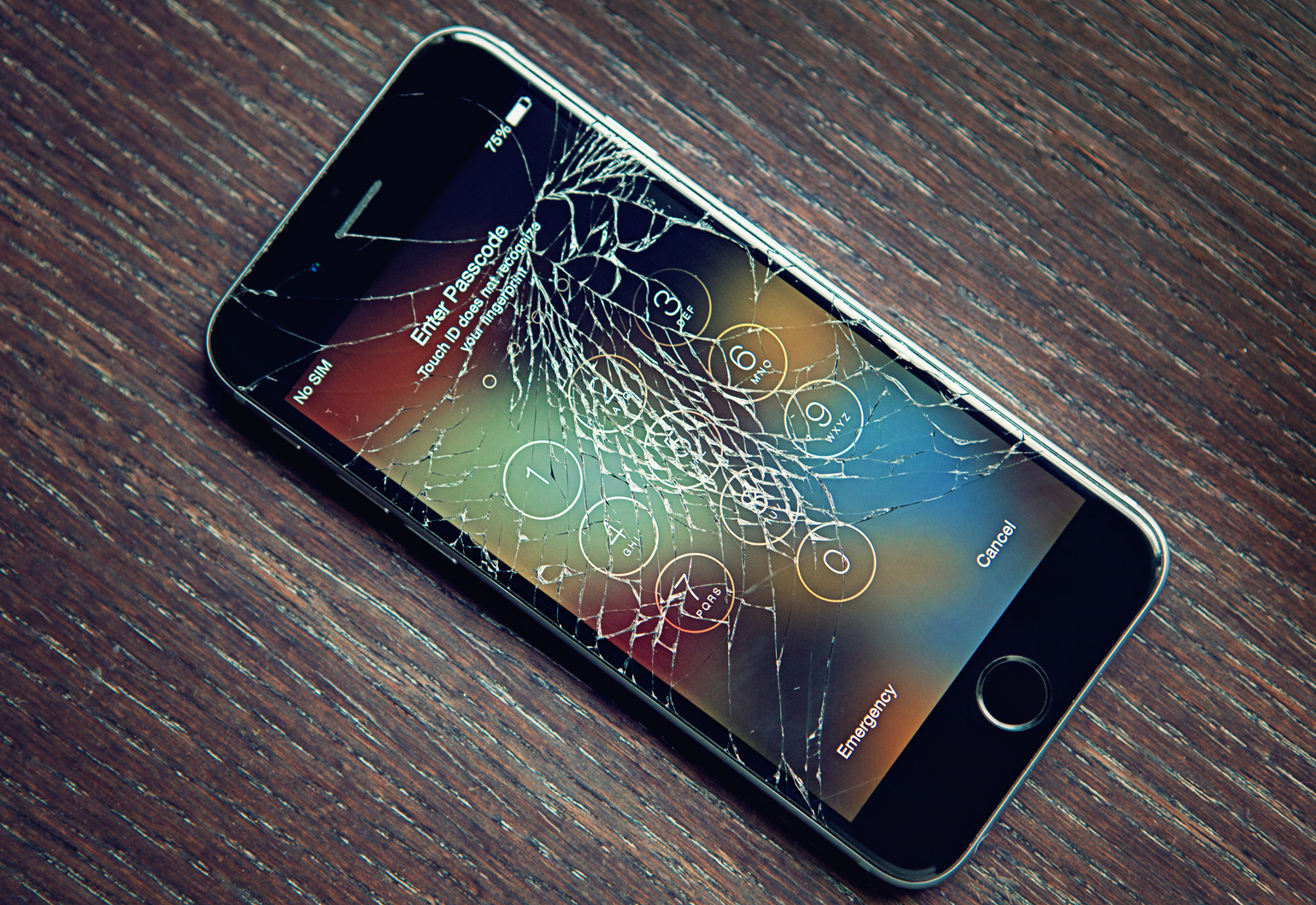 iphone broken screen phone screens might soon be a thing of the past 11664