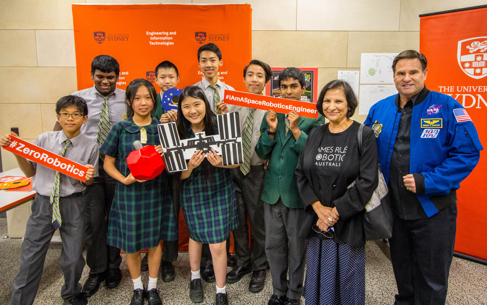 Students rise to the challenge of solving space exploration issues