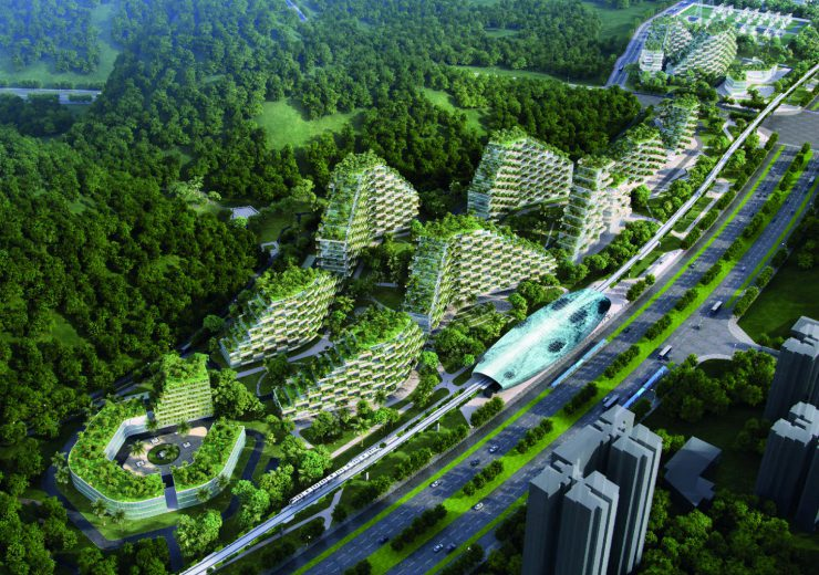 Chinese forest city green infrastructure
