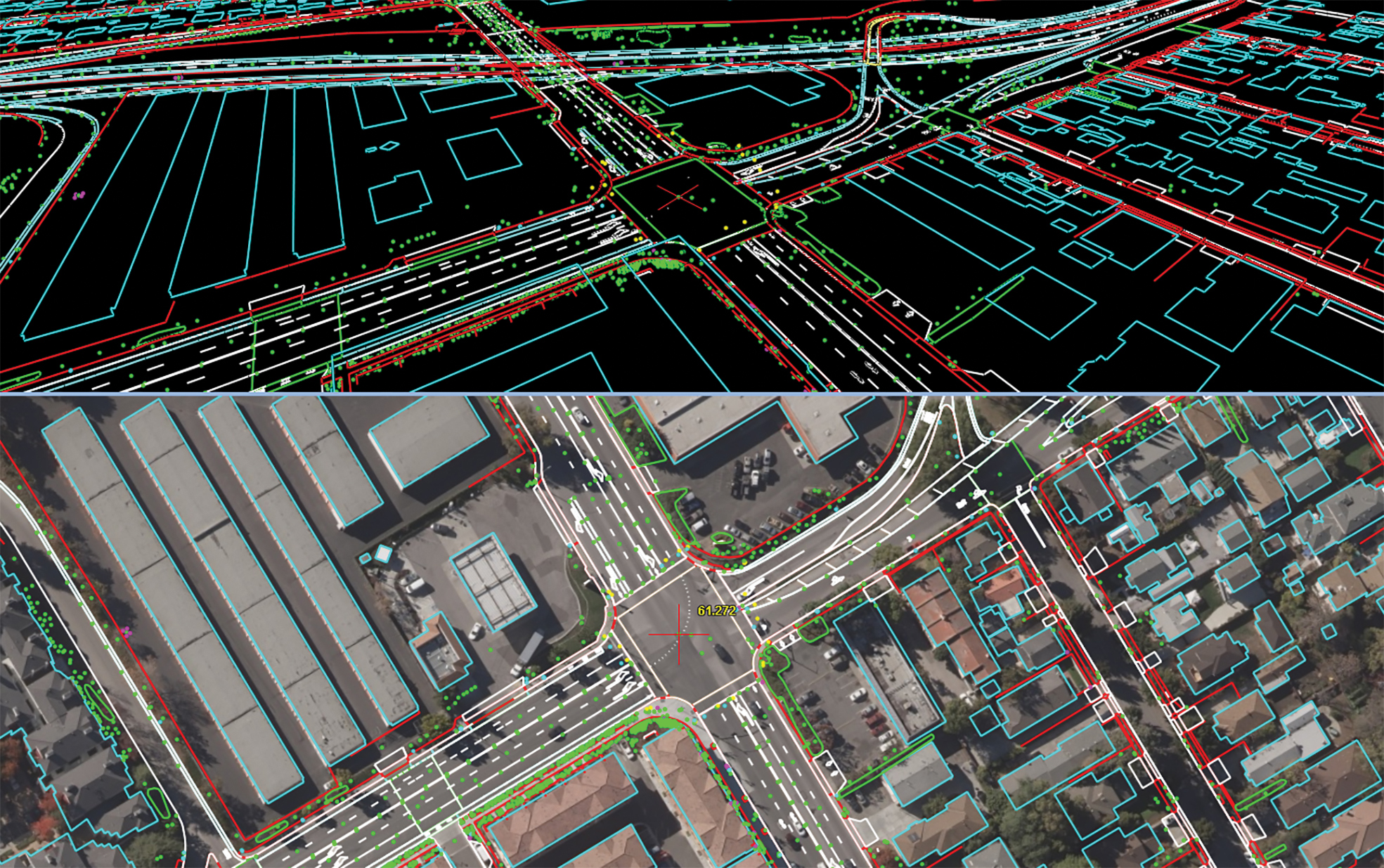 maps for driverless cars
