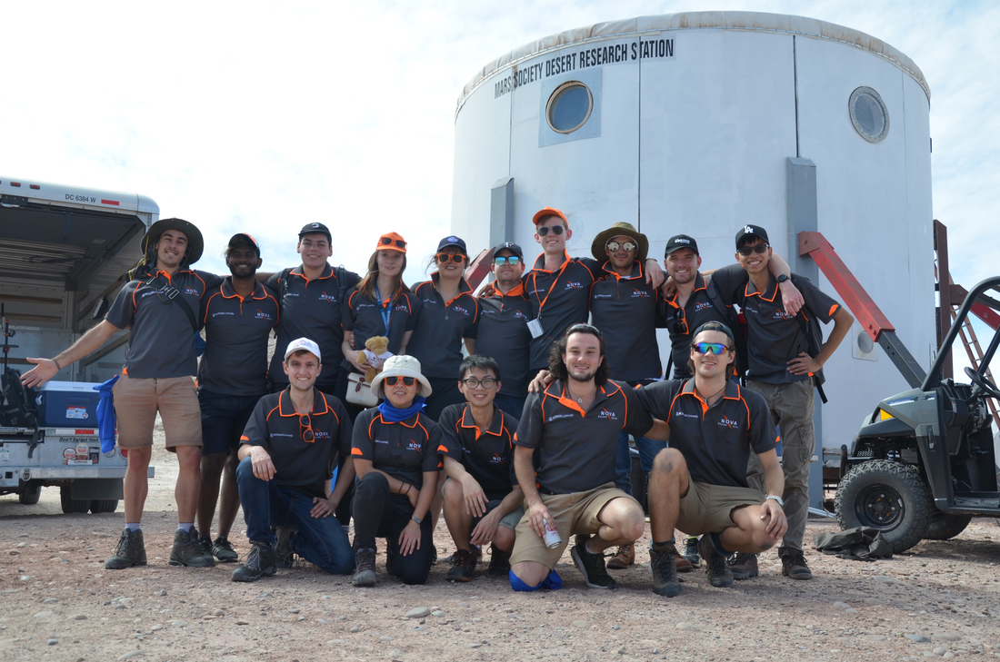 students design and build a Mars rover for international competition