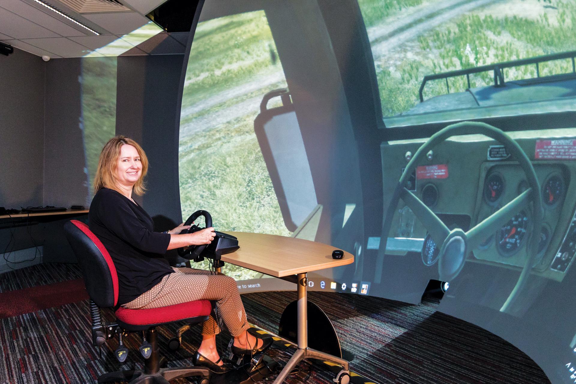 Defence Force VR training