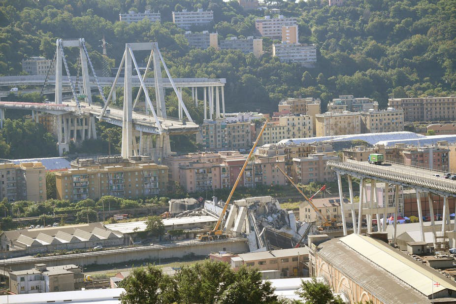 Morandi bridge collapse, Genoa, Italy