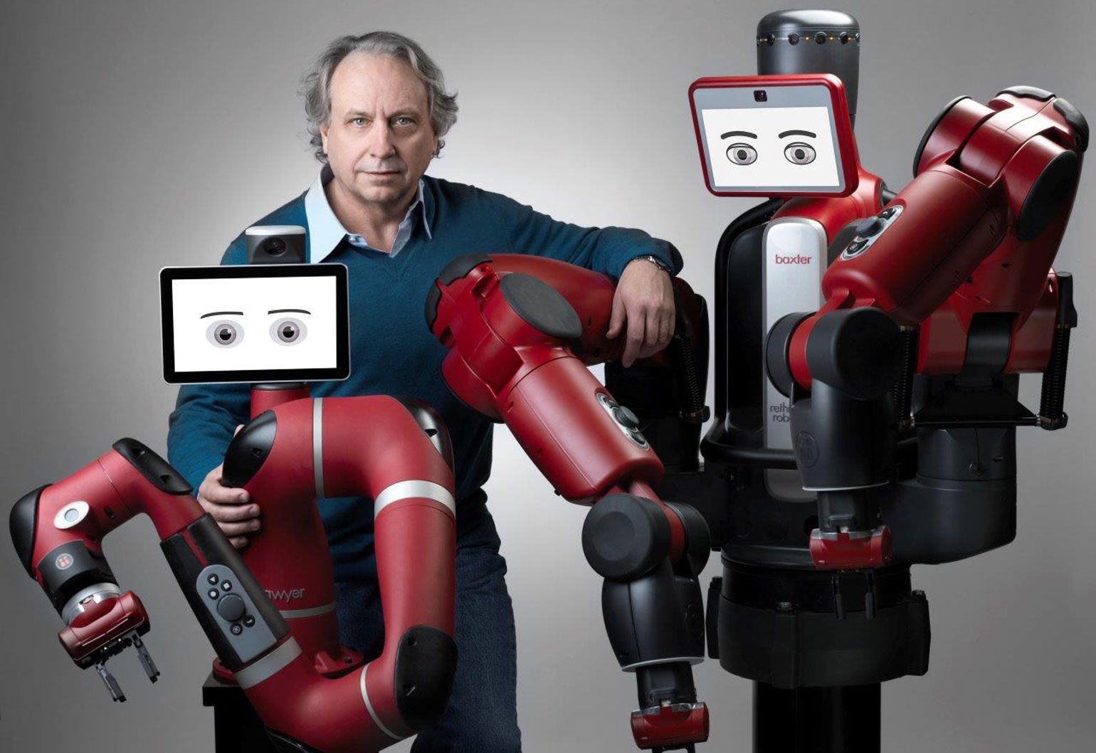 Collaborative robots Baxter and Sawyer