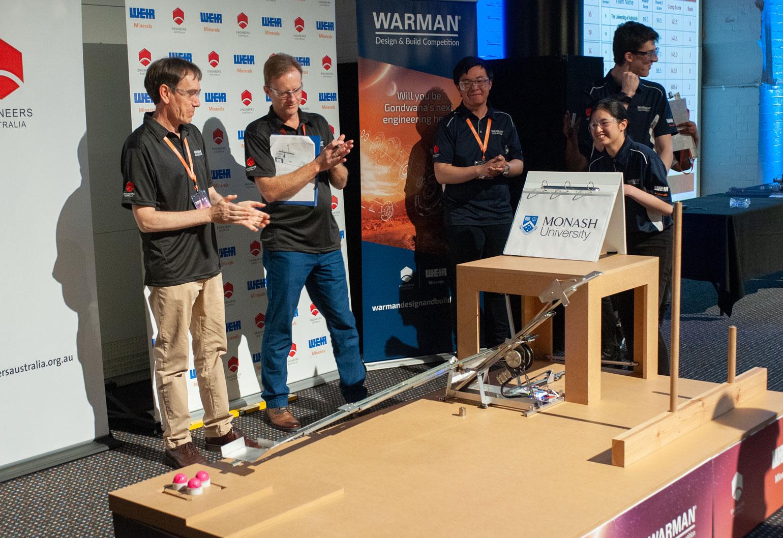 Monash University two-armed robot saves Gondwana