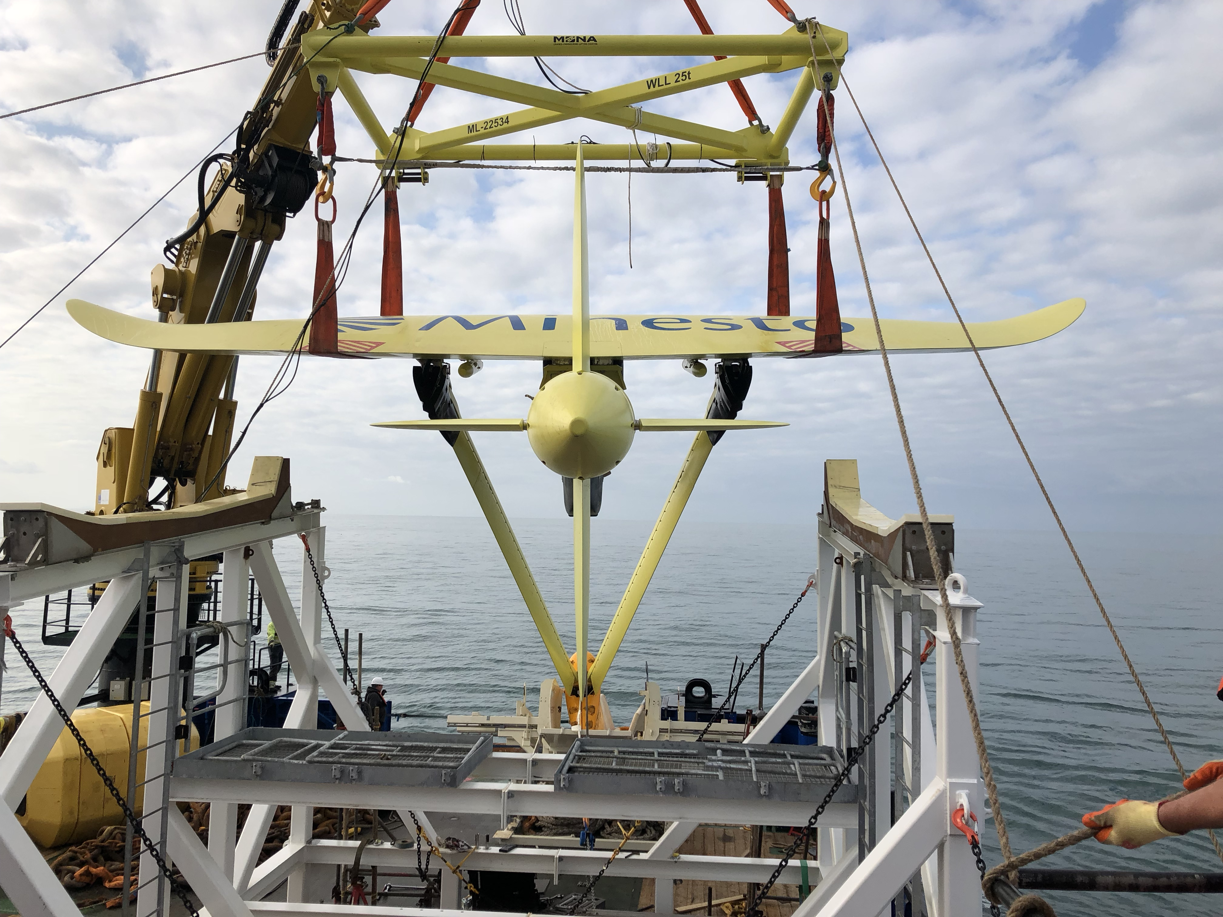 Underwater 'kites' are tapping into the ocean's tidal energy