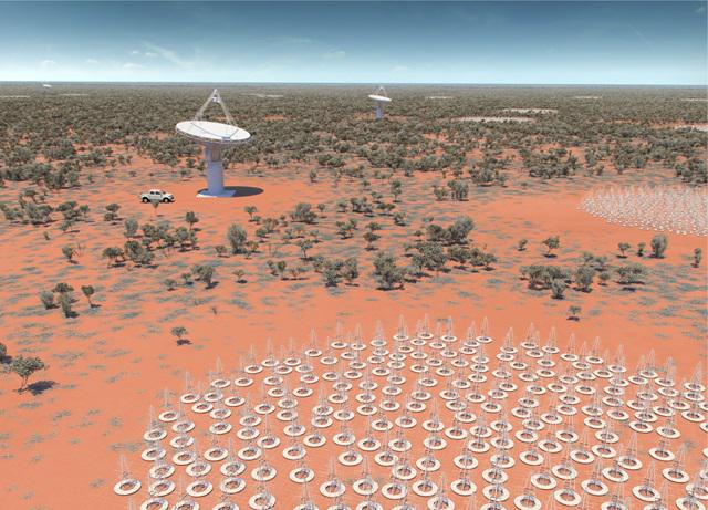 Square Kilometre Array, the world's largest radio telescope