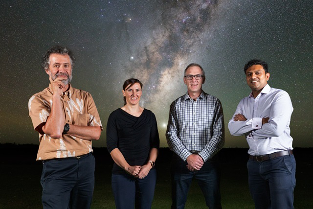 some of the team behind the Square Kilometre Array