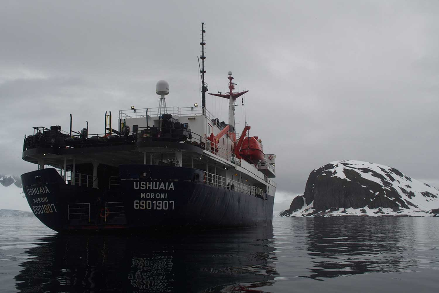 The MV Ushuaia