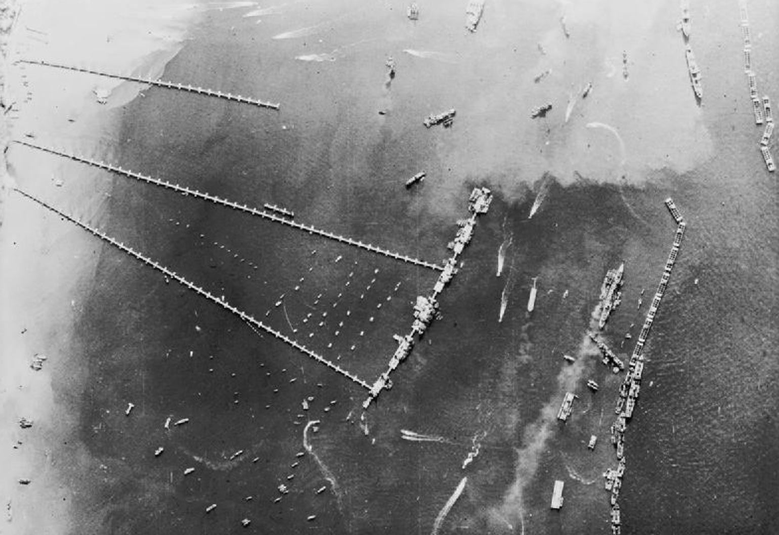 D-Day Mulberry Harbours