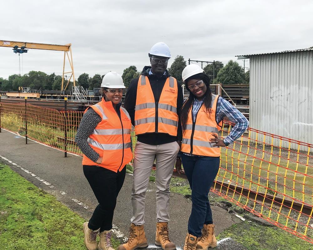 refugees in engineering in Australia