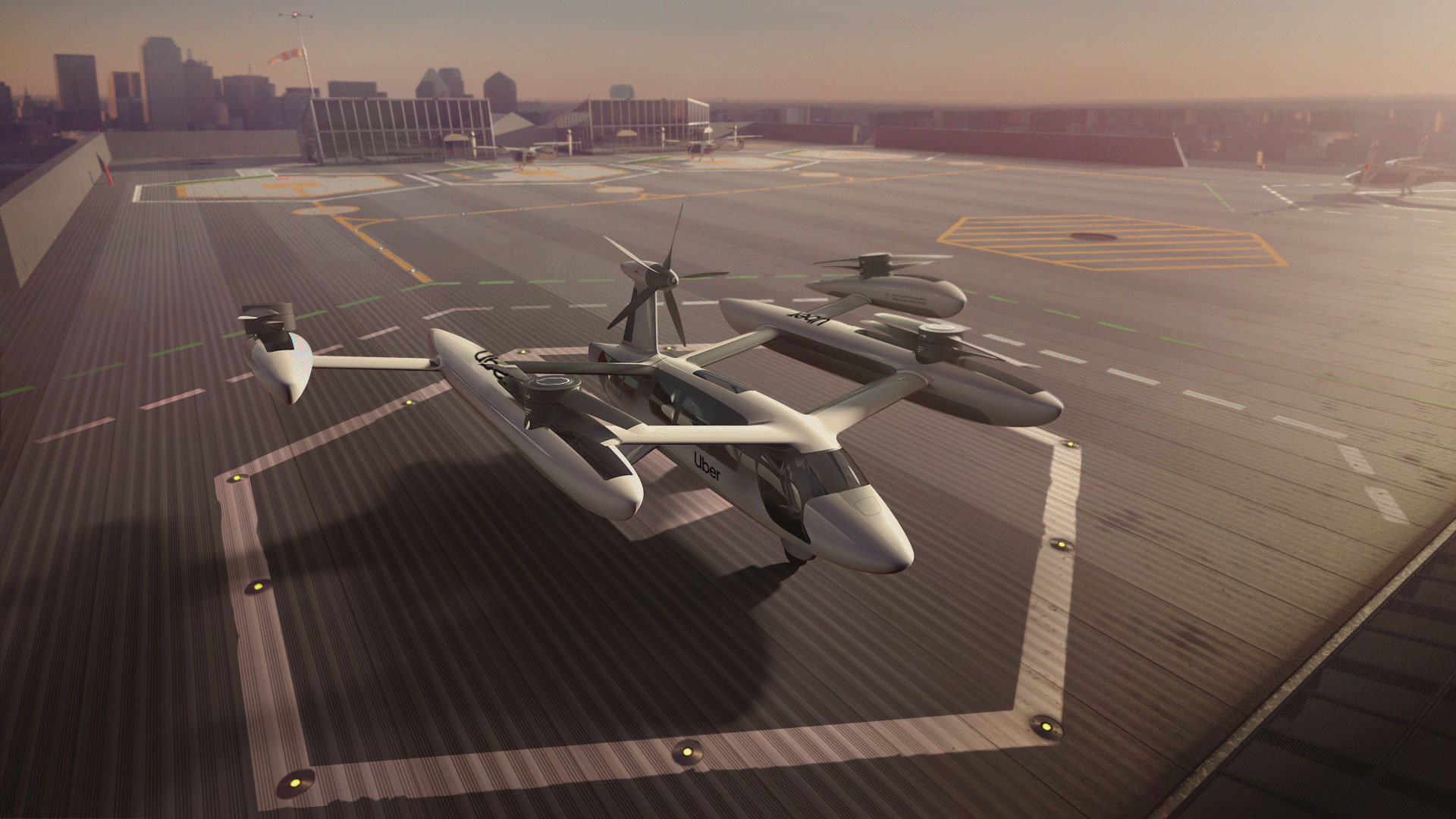 Uber Air flying taxi trial in Melbourne