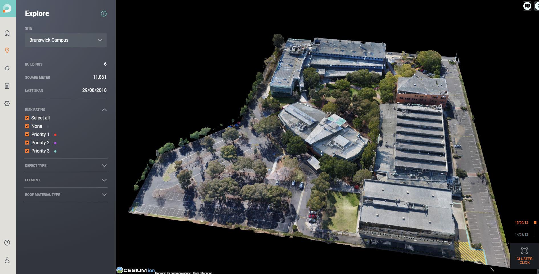 Assessing the RMIT Brunswick campus