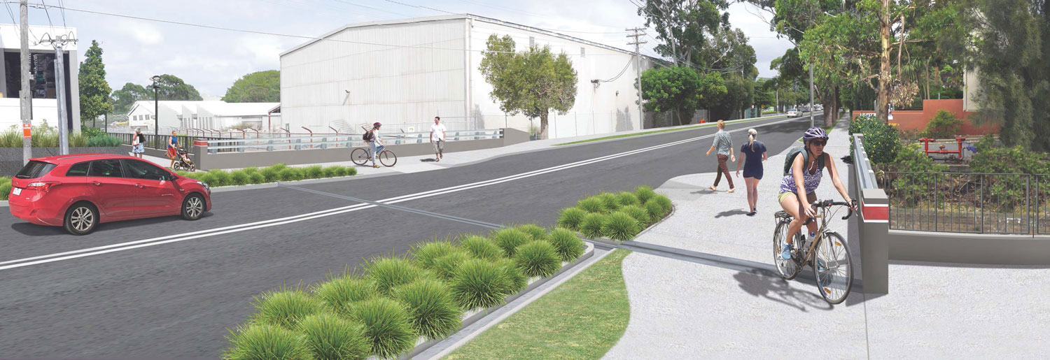 Green Square cycleway