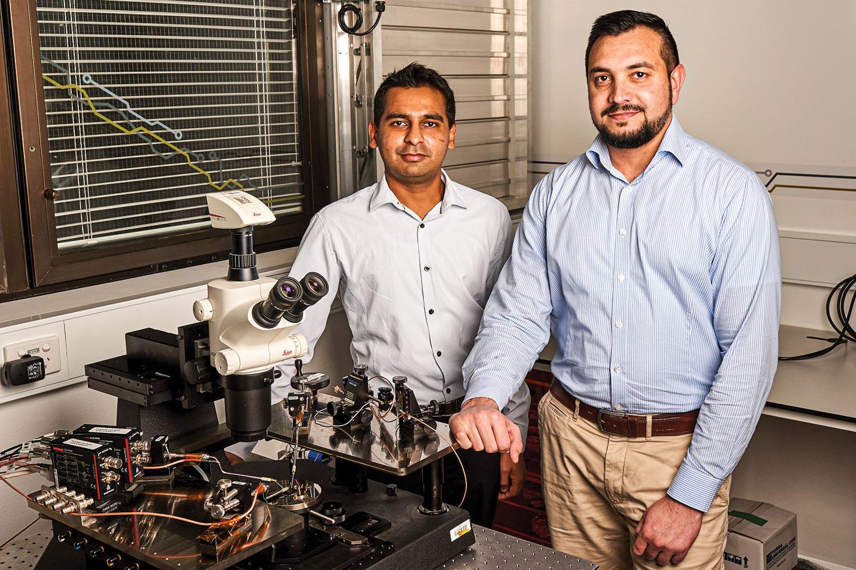 Dr Sumeet Walia and Dr Taimur Ahemd