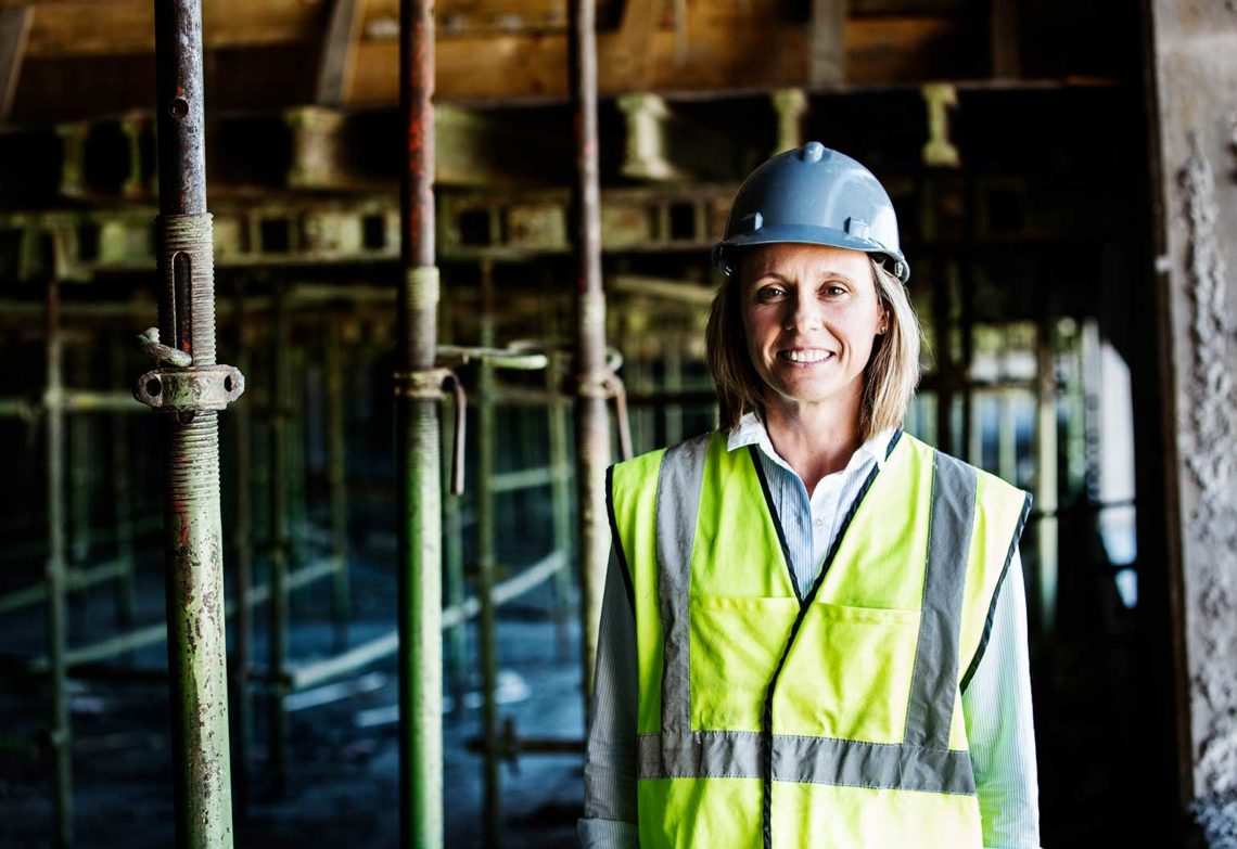 """Breaking through the concrete ceiling"": How to get more women in construction"