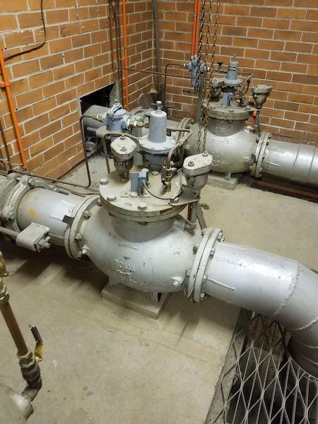 A pressure-reducing valve