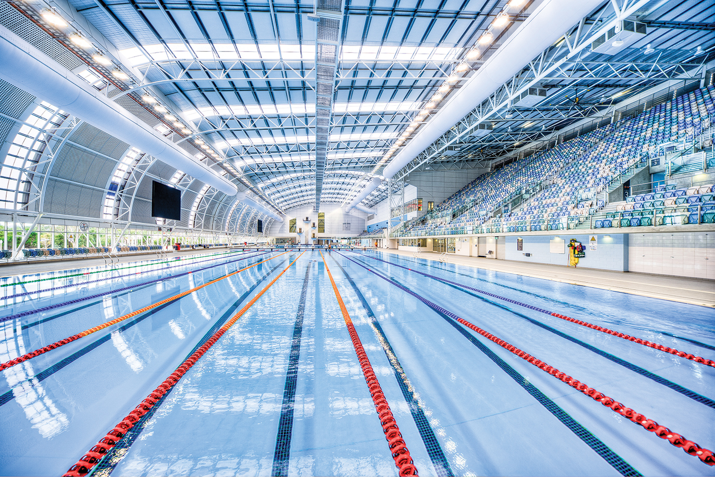 The South Australia Aquatic and Leisure Centre. (Image: Andrea Bourne)