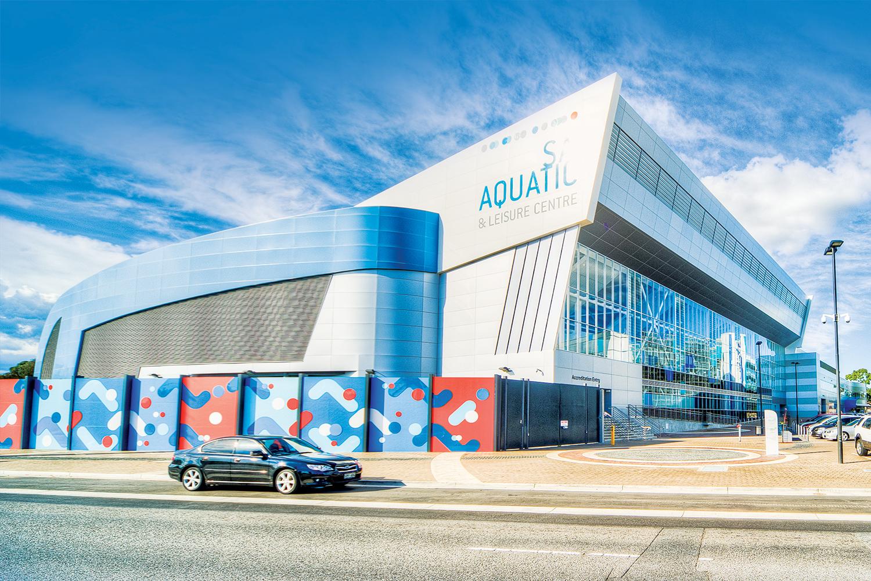 The South Australia Aquatic and Leisure Centre.