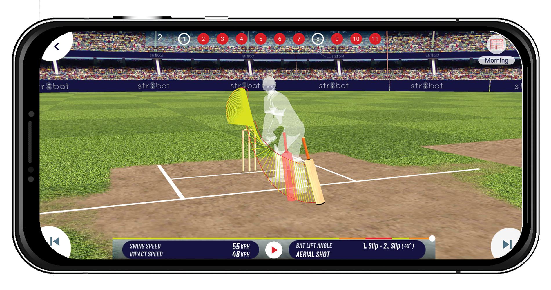 smart cricket bat