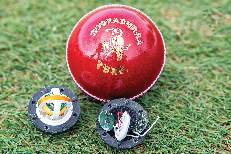 smart cricket ball