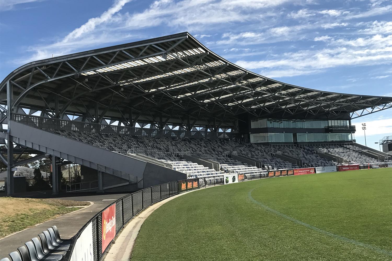 Mars Stadium, Ballarat.