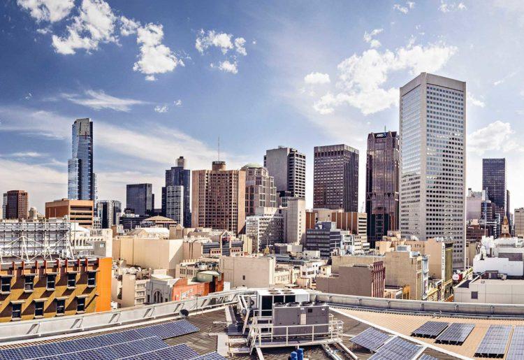 ISPT solar panels in Melbourne.