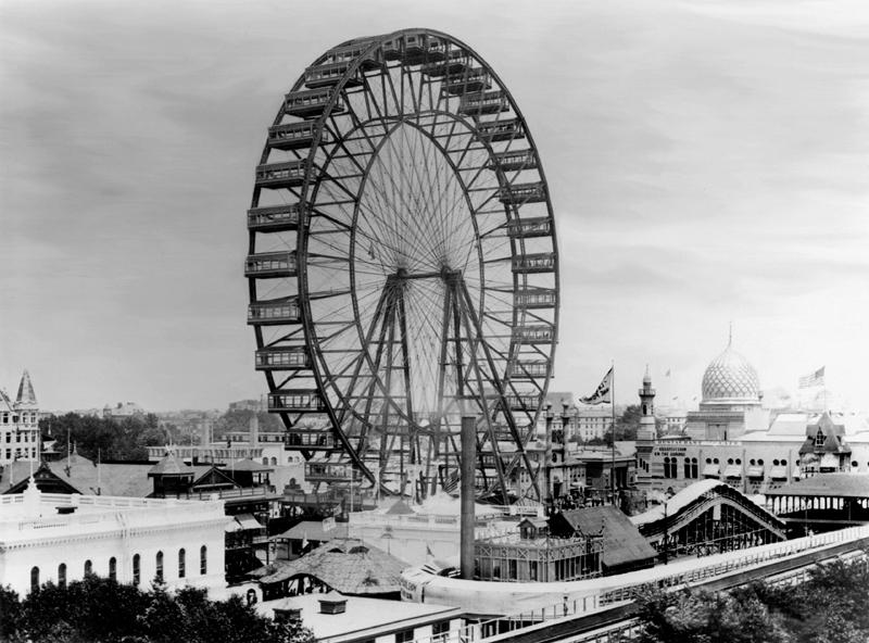 The original Chicago Ferris Wheel.