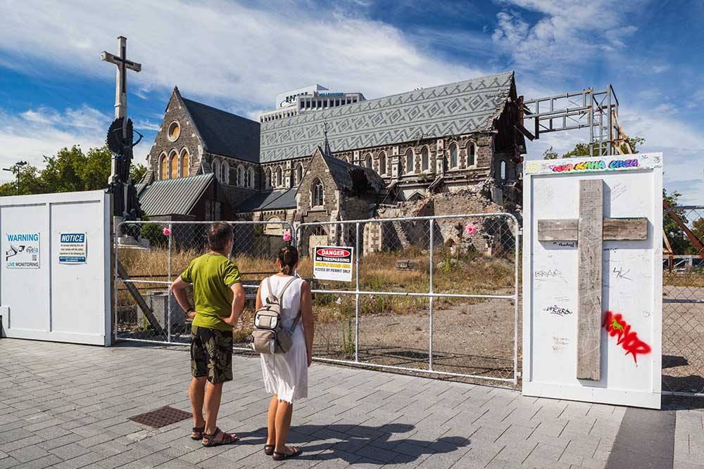 Christchurch Cathedral was destroyed in the 2011 earthquake.