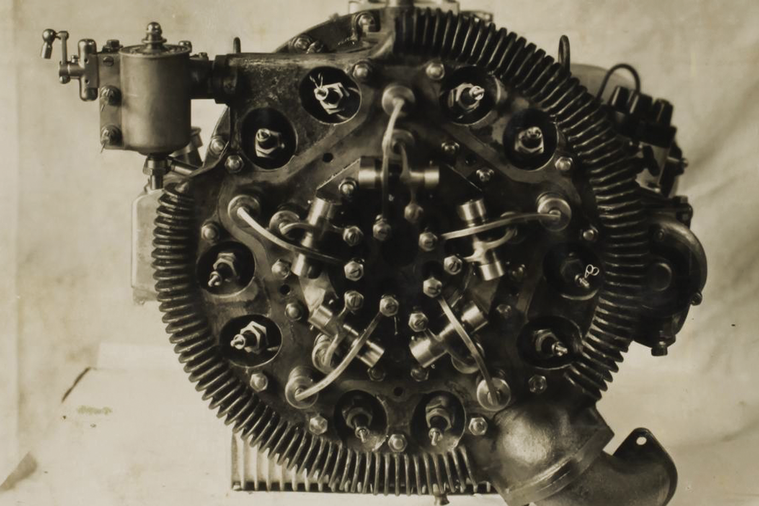 Car engine. (Image: Museums Victoria Collection)